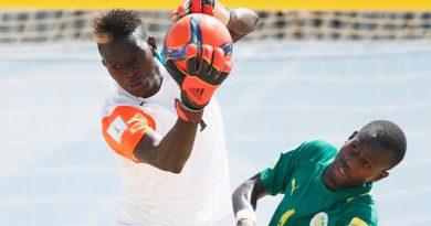 Veillée d'armes pour le beach soccer africain