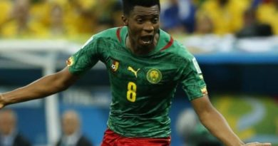 Le Lorientais Benjamin Moukandjo a inscrit le 1er but camerounais