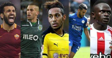 les-5-nomines-pour-le-joueur-africain-de-lannee-2016