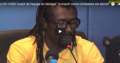 Conférence de Presse d'avant match , Aliou Cissé