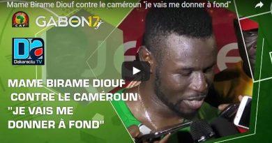 Contre le Cameroun je vais me donner à fond