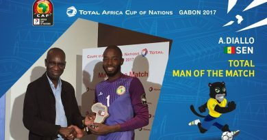 Diallo est élu Total Man of the Match