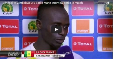 Interview après le match de Sadio Mané