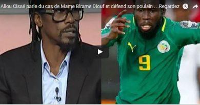 Aliou Cissé parle du cas de Mame Birame Diouf et défend son poulain