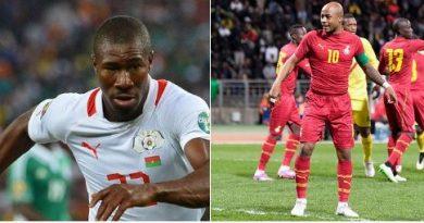 Les Compos de Burkina Faso - Ghana , Match pour la 3e place