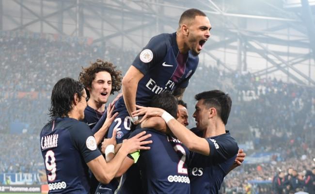 Marseille 1-5 Paris