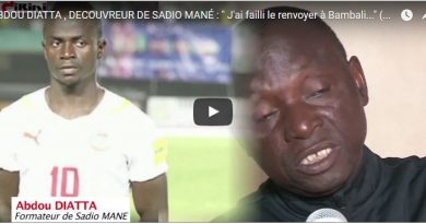 Vidéo - Abdou Diatta, formateur de Sadio Mané