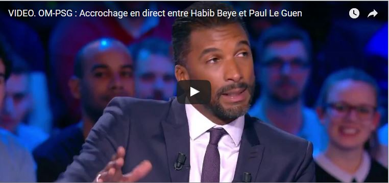 habib beye - paul le guen - psg om 5 - 1