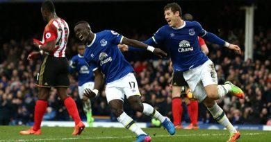 verton 2-0 Sunderland , But de Gana Gueye