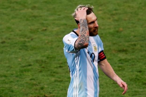 Coup dur pour Leo Messi
