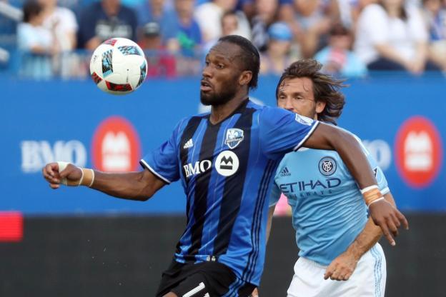 Didier Drogba est sans club depuis son départ de Montréal