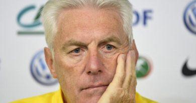 Hugo Broos, le sélectionneur du Cameroun