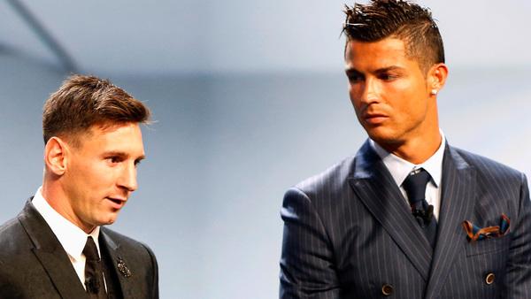 Messi et Cristiano Ronaldo - Ils sont exactement du même niveau
