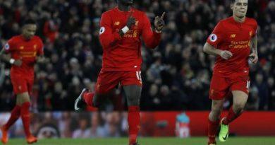 Sadio Mané a inscrit le deuxième but de Liverpool