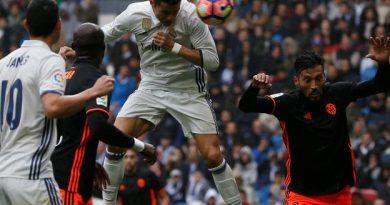Cristiano a encore marqué contre Valence