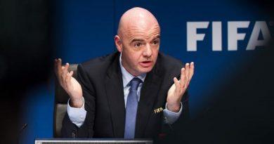 Gianni Infantino, le président de la Fifa