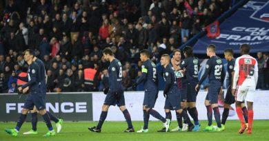Le PSG s'est qualifié facilement face à l'AS Monaco