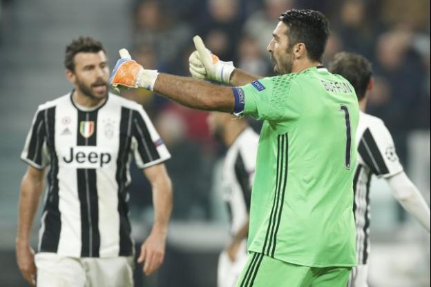 Le capitaine de la Juventus Gianluigi Buffon
