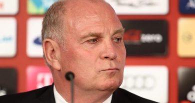 Le président du Bayern Munich Uli Hoeness n'est pas satisfait par la saison de son club