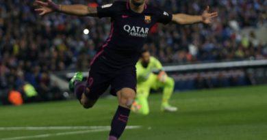 Luis Suarez a marqué un doublé