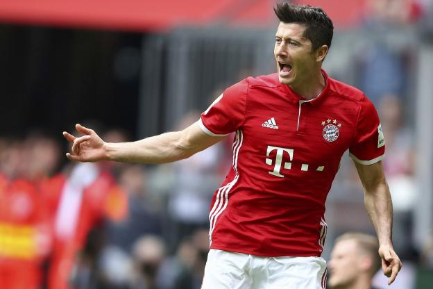 Robert Lewandowski va sûrement débuter le match retour contre le Real Madrid