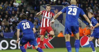 Saul Niguez a ouvert le score pour l'Atlético de Madrid