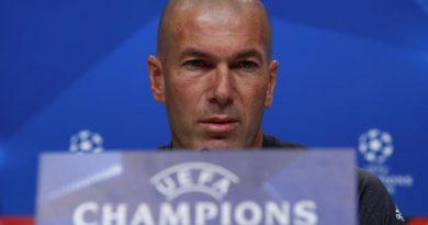 Zidane en conférence de presse mardi