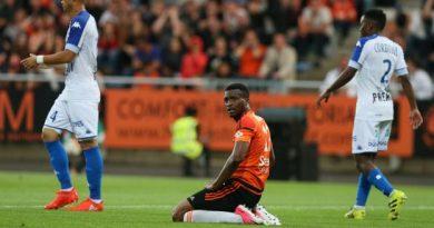Benjamin Moukandjo et les Lorientais descendent en Ligue 2