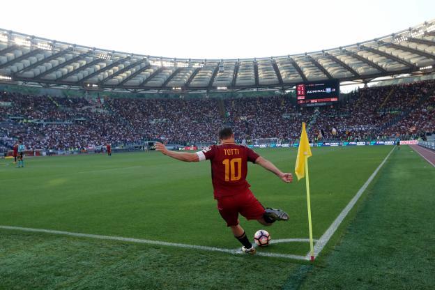 Francesco Totti a joué son dernier match avec la Roma
