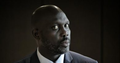 George Weah soutient Benzema