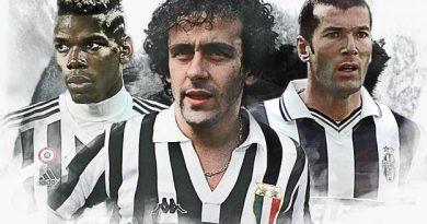 L'équipe type des Français de la Juventus