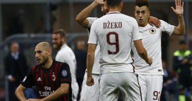 La Roma bat le Milan et reste 2e