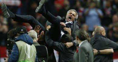 La joie de José Mourinho