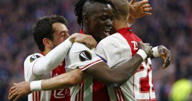 Le onze de l'Ajax contre MU a 22 ans et 282 jours de moyenne d'âge