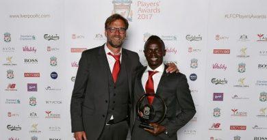 Sadio Mané élu meilleur joueur de la saison