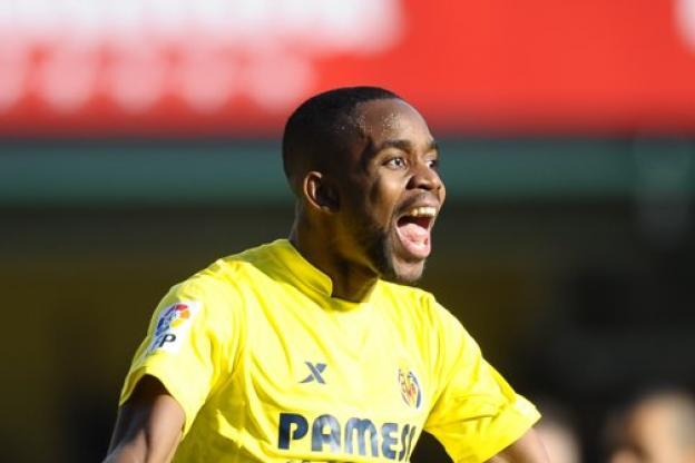 Cédric Bakambu, l'attaquant de Villarreal, a inscrit un doublé face au Congo