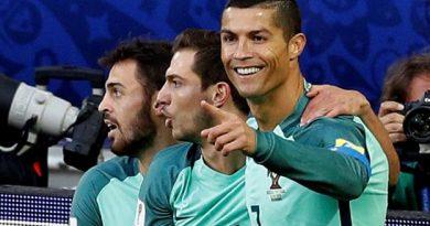 Cristiano Ronaldo fête son premier but en Coupe des Confédérations