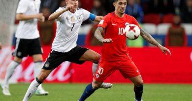 Julian Draxler et l'Allemagne n'ont pas réussi à battre le Chili