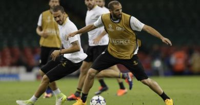 Leonardo Bonucci et Giorgio Chiellini, les défenseurs de la Juve