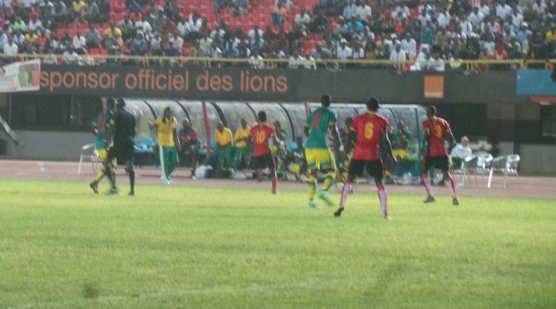 Sénégal et l'Ouganda 0-0