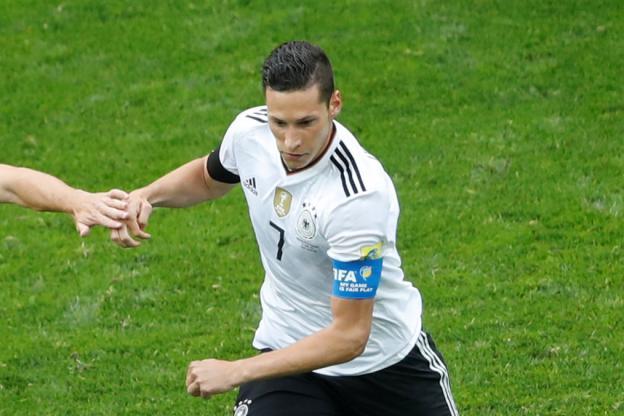 Stegen et l'attaquant Julian Draxler seront titularisés avec l'Allemagne contre le Chili