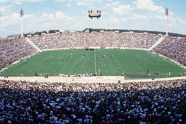Le Stade au moment de la candidature au Mondial 2010