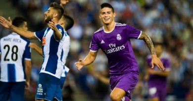 James Rodriguez during the Liga match between Espanyol and Real Madrid on 18th September 2016 Photo : Adelantado / Marca / Icon Sport