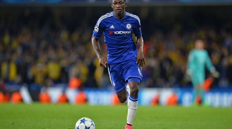 Chelsea's Ghanaian defender Baba Rahman runs with the ball during the UEFA Champions League, group G, football match between Chelsea and Maccabi Tel Aviv at Stamford Bridge in London on September 16, 2015.  Chelsea won the match 4-0.      AFP PHOTO / GLYN KIRK        (Photo credit should read GLYN KIRK/AFP/Getty Images)