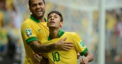 Dani Alves et Neymar dans la sélection