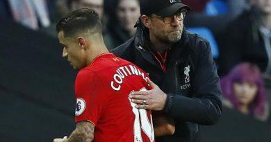 Jürgen Klopp ne veut pas entendre parler d'un départ de Philippe Coutinho