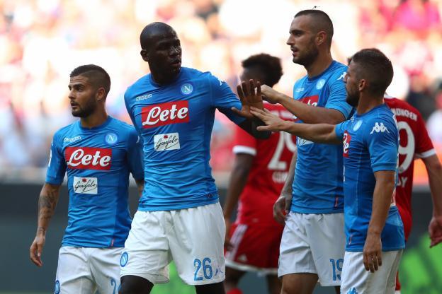 Kalidou Koulibaly a ouvert le score pour Naples