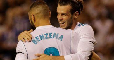 Karim Benzema et Gareth Bale
