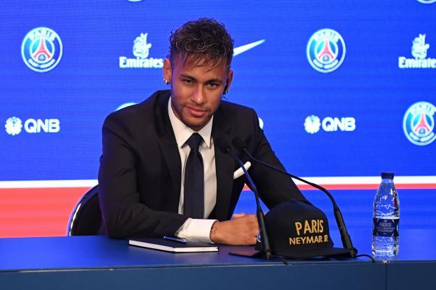 Neymar a été surpris par l'action en justice de Barcelone