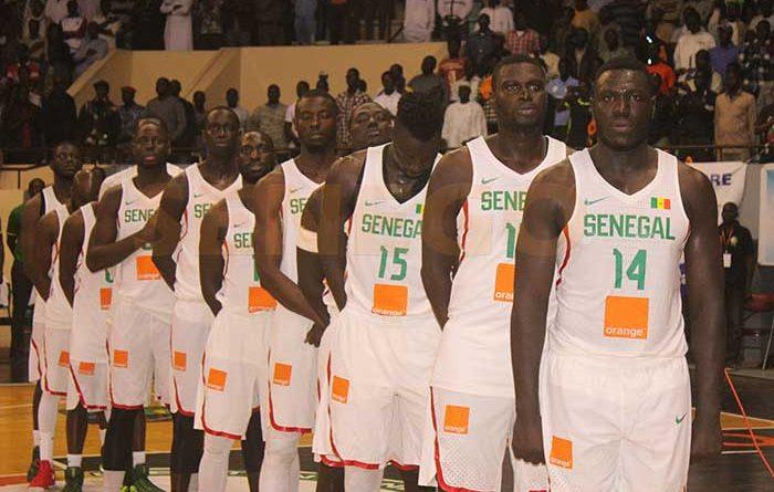 Préparation de l'Afrobasket masculin